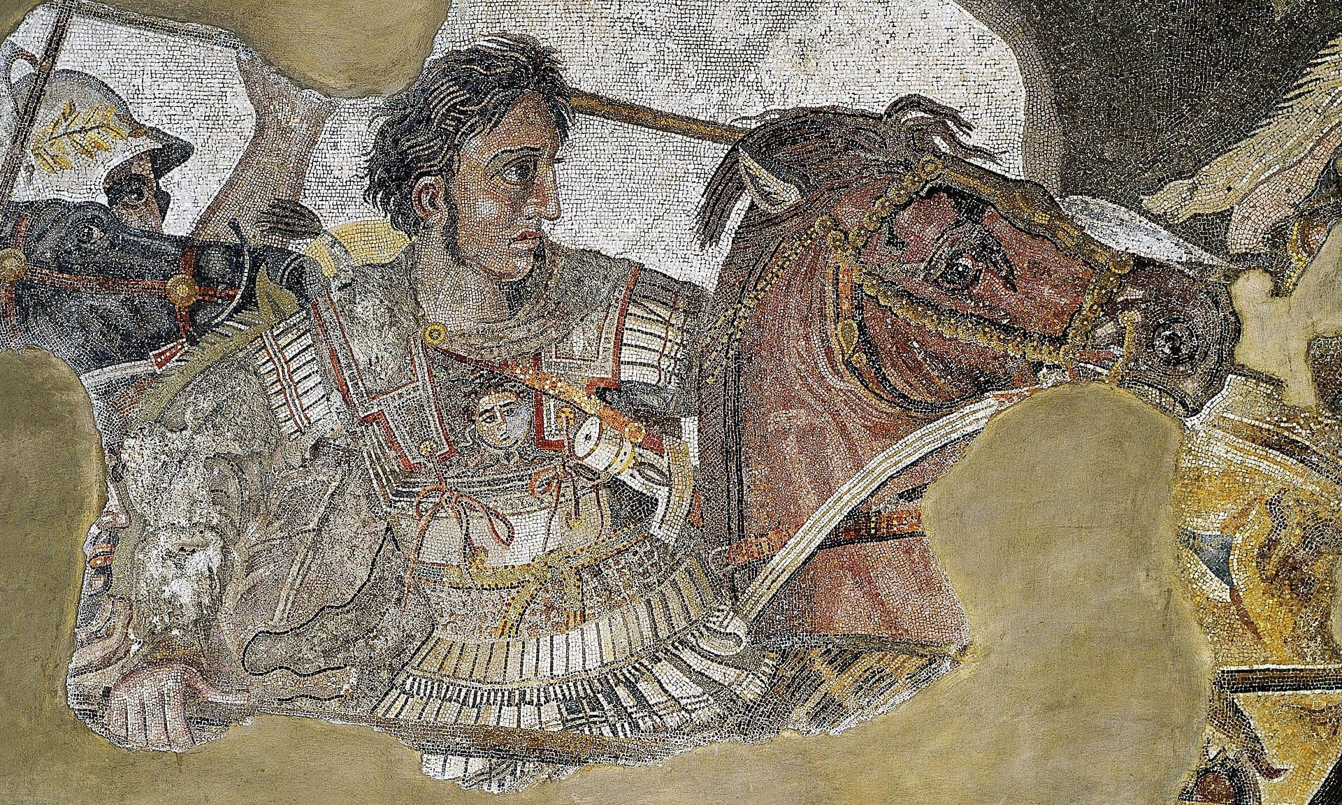 Mosiac Alexander the Great